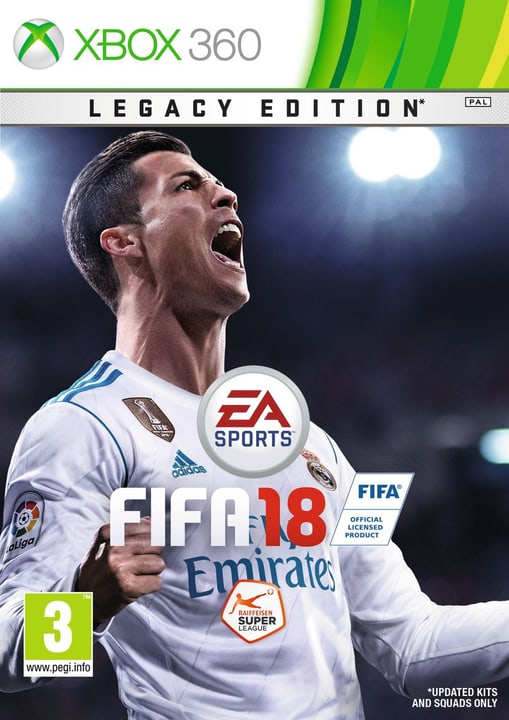 Xbox 360 - FIFA 18 Fisico (Box) 785300122672 Lingua Tedesco, Italiano Piattaforma Microsoft Xbox 360 N. figura 1
