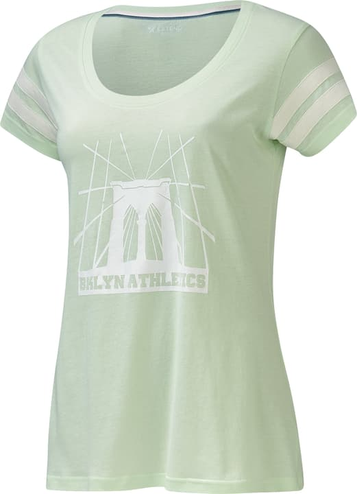 T-Shirt Brooklyn Bridge Damen-T-Shirt Extend 462380000369 Farbe lindgrün Grösse S Bild-Nr. 1