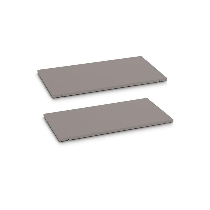 SEVEN Ripiano set da 2 60cm Edition Interio 362019447906 Dimensioni L: 60.0 cm x P: 1.4 cm x A: 35.5 cm Colore Grigio N. figura 1