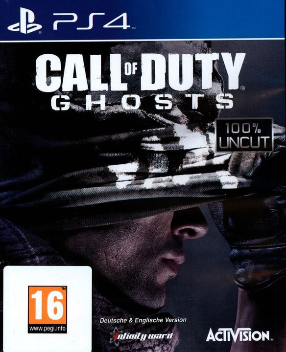 PS4 - Call of Duty: Ghosts Box 785300121581 Photo no. 1