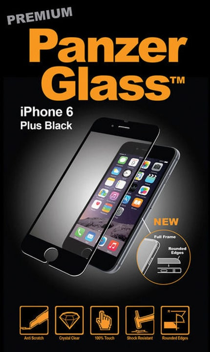 Premium iPhone 6/6s Plus - nero Panzerglass 785300134487 N. figura 1