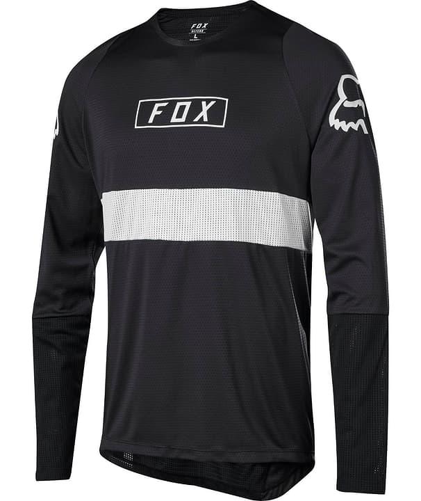 Defend Fox Herren-Langarmtrikot Fox 461371600520 Farbe schwarz Grösse L Bild Nr. 1