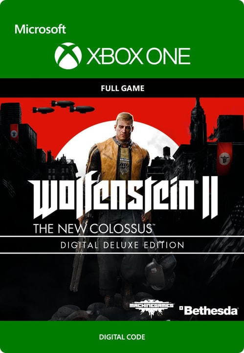 Xbox One - Wolfenstein II: The New Colossus Digital Deluxe Digitale (ESD) 785300136379 N. figura 1