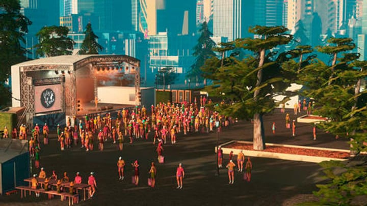 PC - Cities: Skylines - Concerts Download (ESD) 785300133391 Photo no. 1