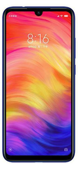 Redmi Note 7 bleu Smartphone 785300143085 Photo no. 1