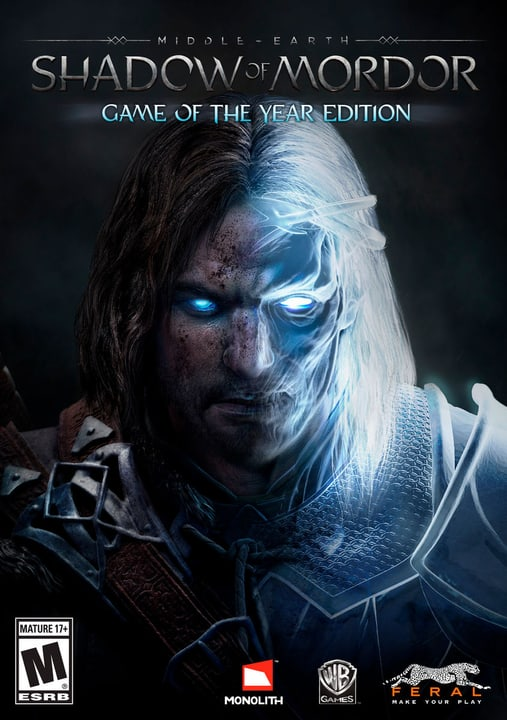 Mac - Middle-earth: Shadow of Mordor - Game Of The Year Edition Download (ESD) 785300134100 Photo no. 1