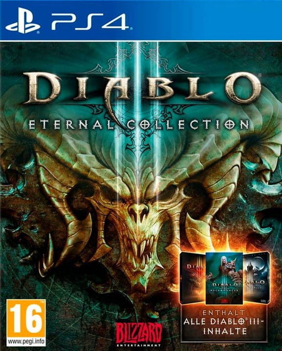 PS4 - Diablo III - Eternal Collection (D) Physisch (Box) 785300135879 Bild Nr. 1