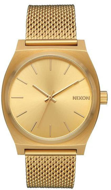 Time Teller Milanese All Gold 37 mm Montre bracelet Nixon 785300136989 Photo no. 1