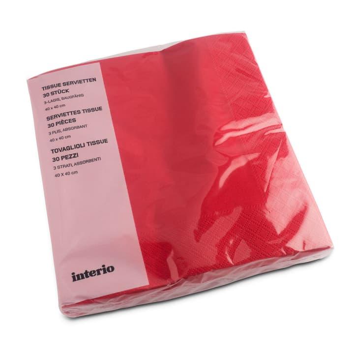 PAPER Tovaglioli di carta 393002174486 Dimensioni L: 20.0 cm x P: 20.0 cm x A: 4.0 cm Colore Rosso N. figura 1