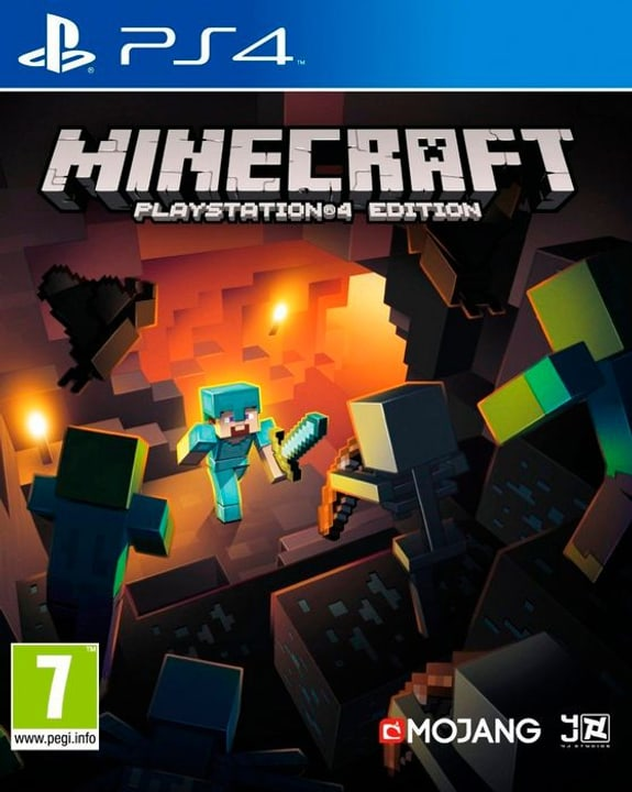 PS4 - Minecraft PlayStation 4 Edition Physisch (Box) 785300135114 Bild Nr. 1