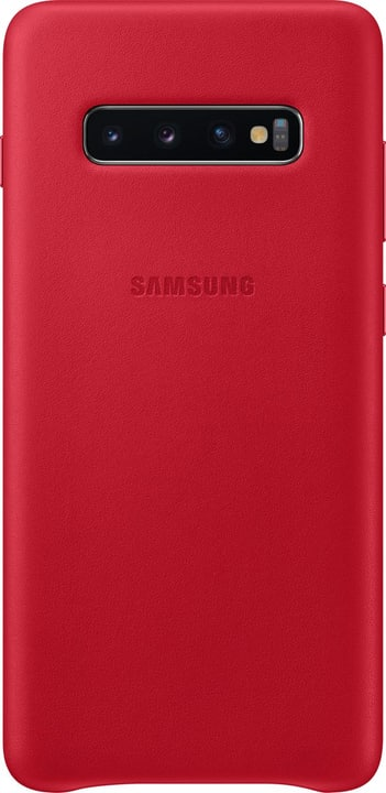 Leather Cover Red Hülle Samsung 798632000000 Bild Nr. 1