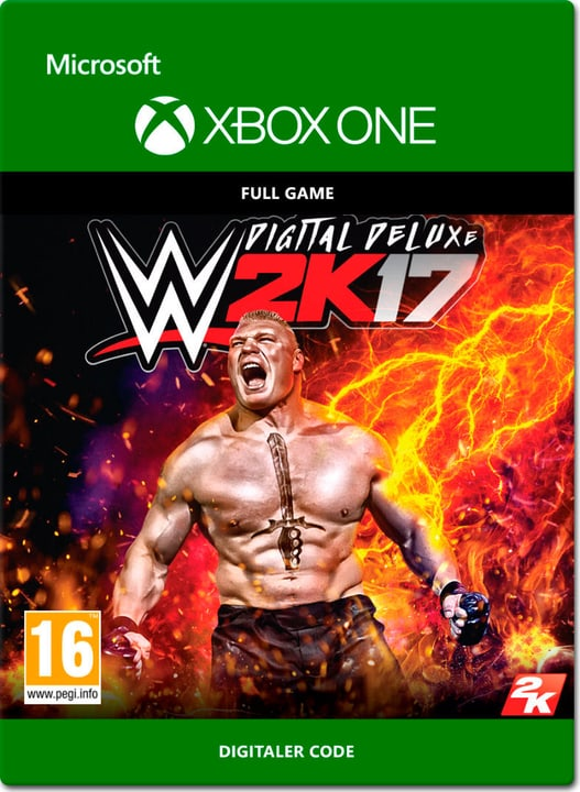 Xbox One - WWE 2K17 Digital Deluxe Download (ESD) 785300137345 Photo no. 1