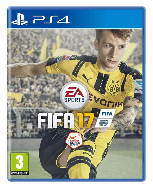 PS4 - FIFA 17 Fisico (Box) 785300121174 N. figura 1