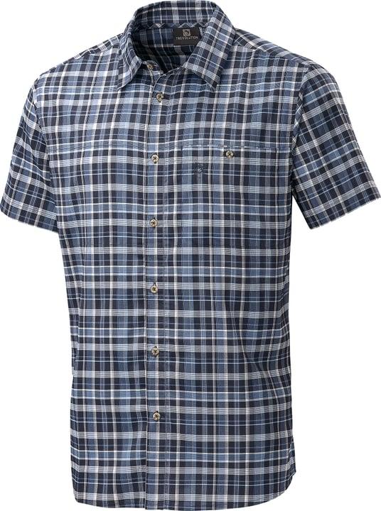 Yago Herren-Kurzarmhemd Trevolution 465726400522 Farbe dunkelblau Grösse L Bild-Nr. 1