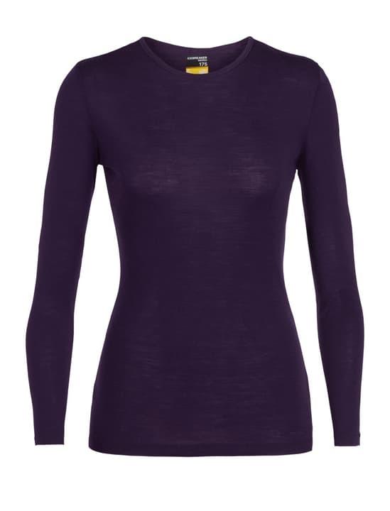 Everyday Crewe 175 Damen-Langarmshirt Icebreaker 477079300245 Grösse XS Farbe violett Bild-Nr. 1