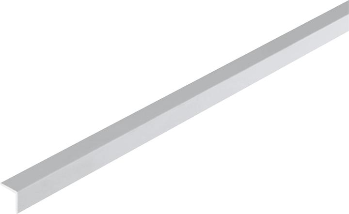 Cornière isocèle 1 x 10 x 10 mm PVC blanc 1 m alfer 605033000000 Photo no. 1