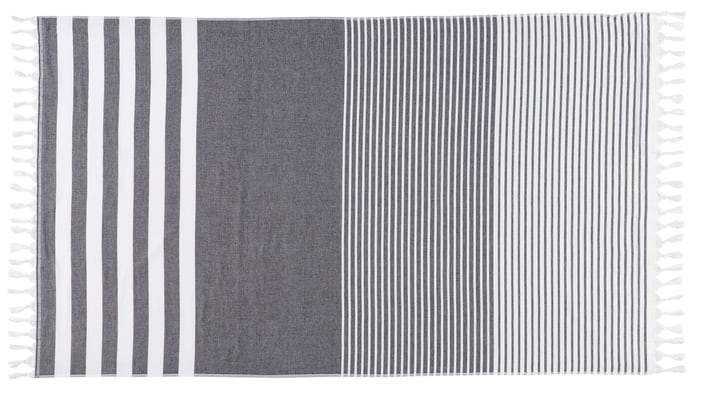 HELADIA Linge Hamam 450862822381 Couleur Gris Dimensions L: 100.0 cm x H: 170.0 cm Photo no. 1