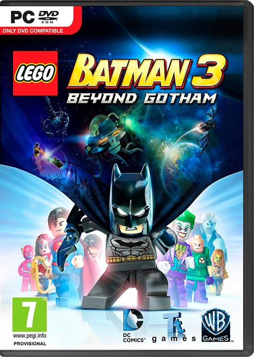 PC - LEGO Batman 3: Beyond Gotham Download (ESD) 785300133422 N. figura 1