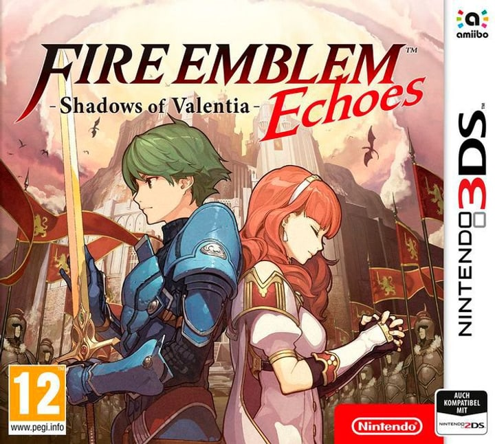 3DS - Fire Emblem Echoes - Shadows of Valentia Physique (Box) 785300122370 Photo no. 1