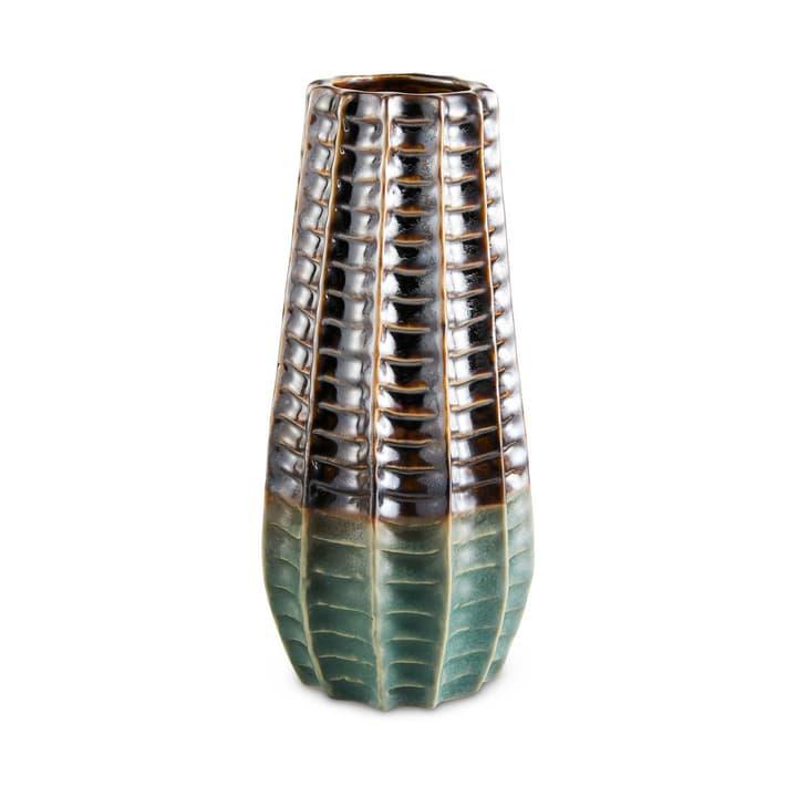 NOAH Vase 396095500000 Grösse B: 9.0 cm x T: 9.0 cm x H: 19.5 cm Farbe Türkis Bild Nr. 1