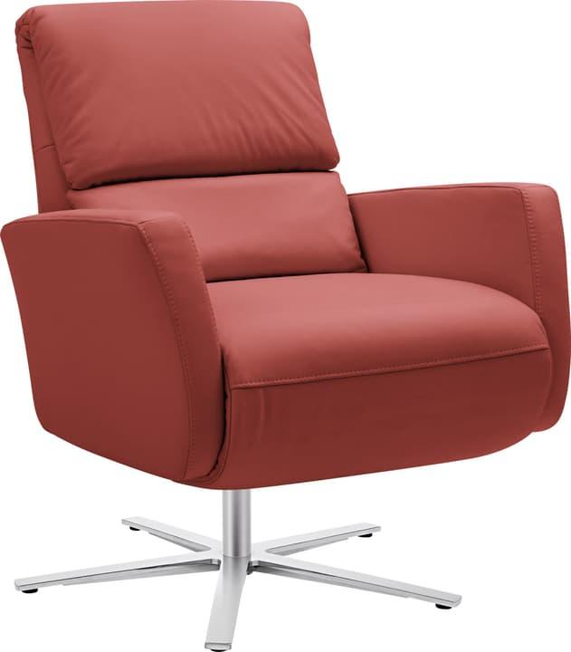 ARTHUR Relaxsessel 402476507030 Grösse B: 74.0 cm x T: 95.0 cm x H: 84.0 cm Farbe Rot Bild Nr. 1