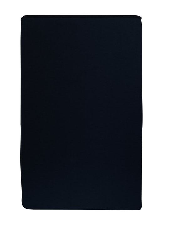 Drap-housse en jersey CARLOS 451033230520 Couleur Noir Dimensions L: 180.0 cm x P: 200.0 cm Photo no. 1
