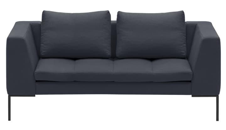 BADER 2er-Sofa 405686420383 Grösse B: 174.0 cm x T: 105.0 cm x H: 80.0 cm Farbe Dunkelgrau Bild Nr. 1