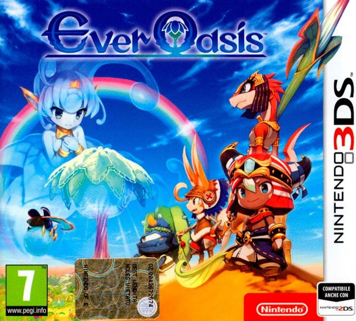 3DS - Ever Oasis (I) Box 785300122398 Photo no. 1