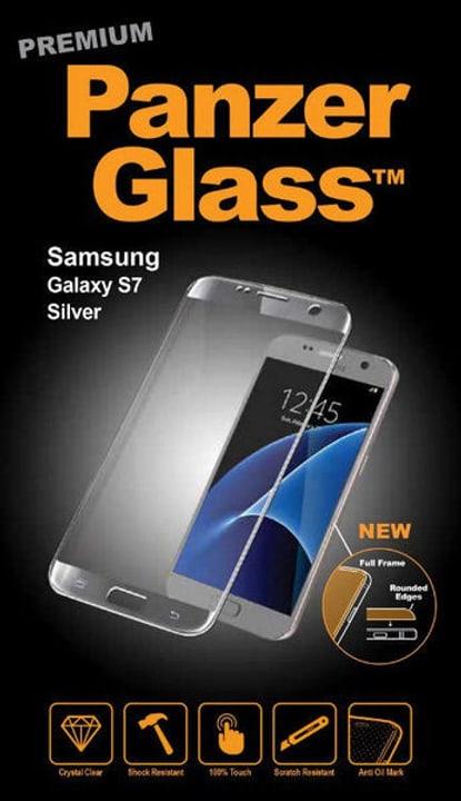 Premium Samsung Galaxy S7 - argento Pellicola prottetiva Panzerglass 785300134493 N. figura 1