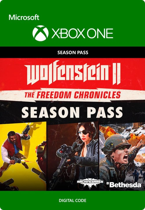 Xbox One - Wolfenstein II - Season Pass Download (ESD) 785300136366 Photo no. 1