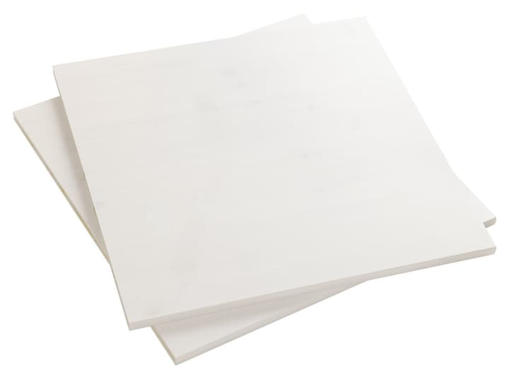 CLASSIC Tablare Flexa 404680500000 Grösse B: 48.0 cm x T: 41.0 cm x H: 1.5 cm Farbe White Wash Bild Nr. 1