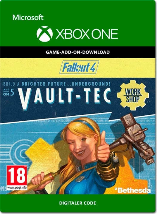 Xbox One - Fallout 4: Vault-Tec Workshop Download (ESD) 785300138652 N. figura 1