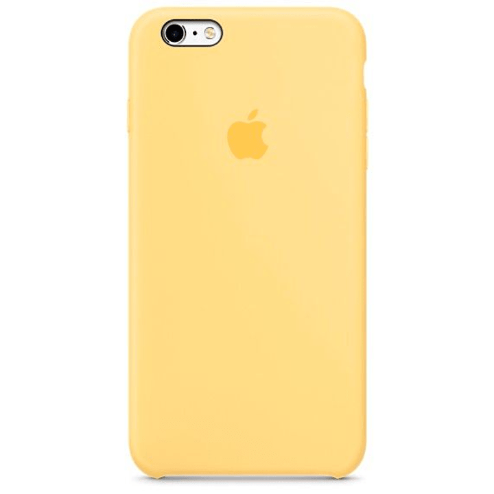 iPhone 6s Plus coque en silicone jaune Coque Apple 785300125208 Photo no. 1