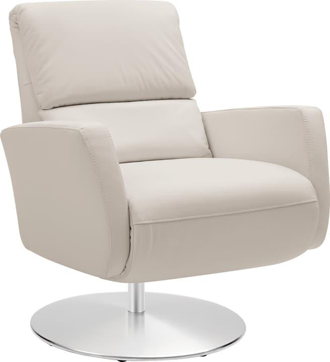 ARTHUR Relaxsessel 402476307011 Grösse B: 74.0 cm x T: 95.0 cm x H: 84.0 cm Farbe Weiss Bild Nr. 1