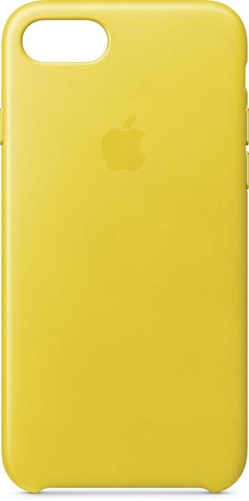 Leather Case iPhone 8/7 Spring Yellow Hülle Apple 785300135042 Bild Nr. 1