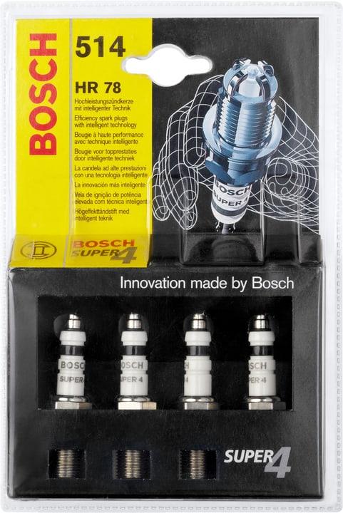 514 HR 78 Super 4 Zündkerze Bosch 620443900000 Bild Nr. 1
