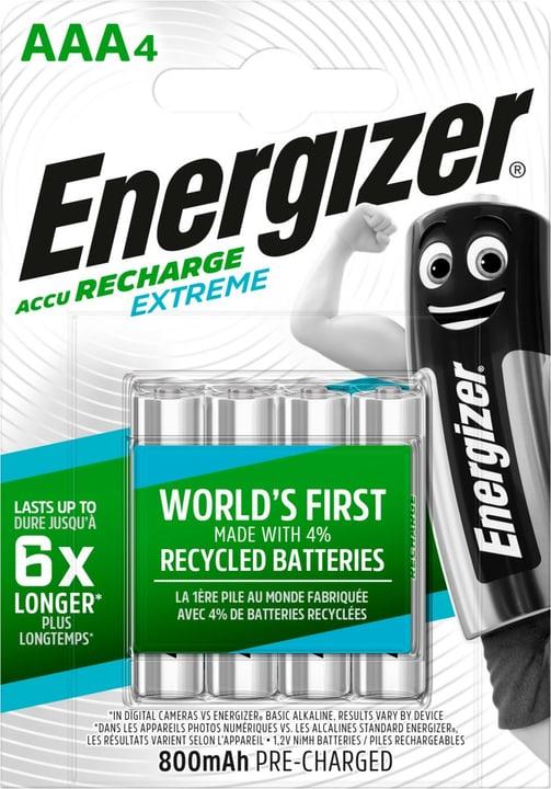 NiMH-Akku Extreme AAA 800mAh (4Stk.) Akku Batterie Energizer 704764500000 Bild Nr. 1