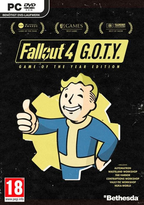 PC - Fallout 4 - GOTY Edition D Physique (Box) 785300130132 Photo no. 1