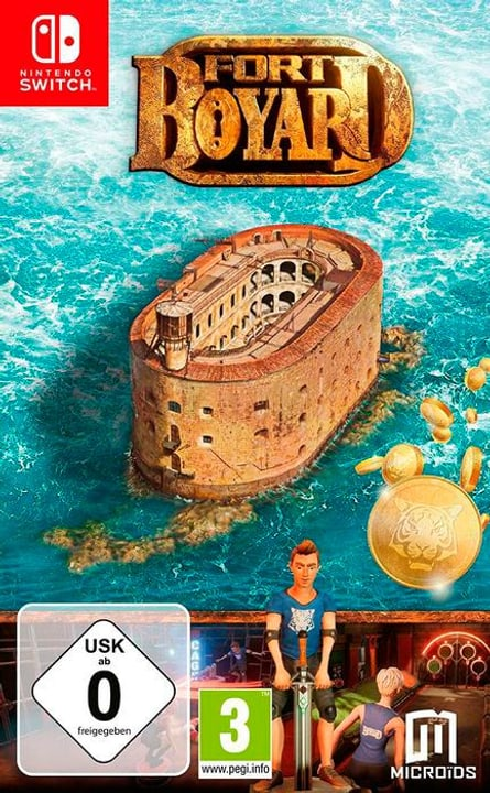 NSW - Fort Boyard D Box 785300145280 Photo no. 1