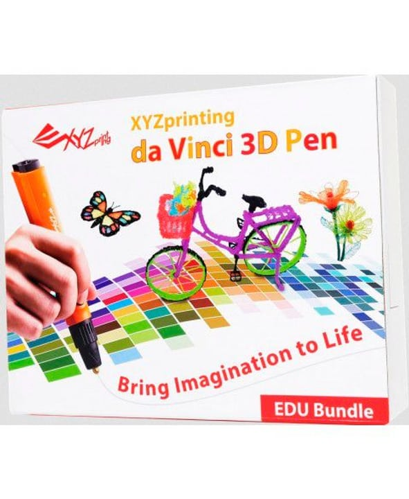3D Pen 1.0 EducatPackage XYZprinting 785300125418