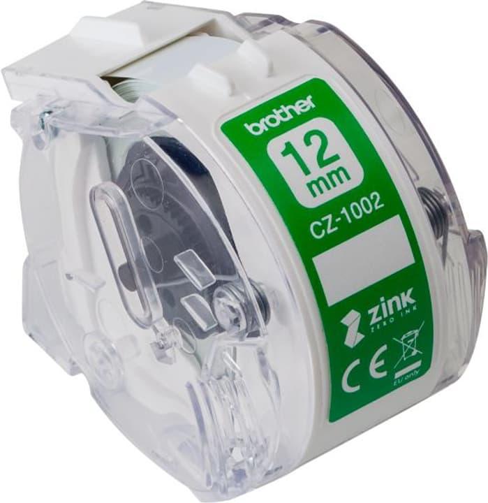 CZ-1002 couleur sans fin rouleau d'étiquettes 12mm/5m VC-500W étiquettes Brother 785300144891 Photo no. 1