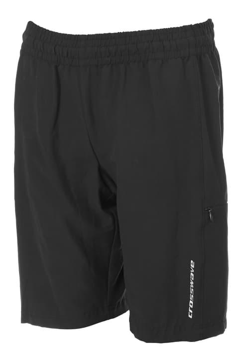 Pantaloncini bermuda da ciclista da bambino Crosswave 464557015220 Colore nero Taglie 152 N. figura 1