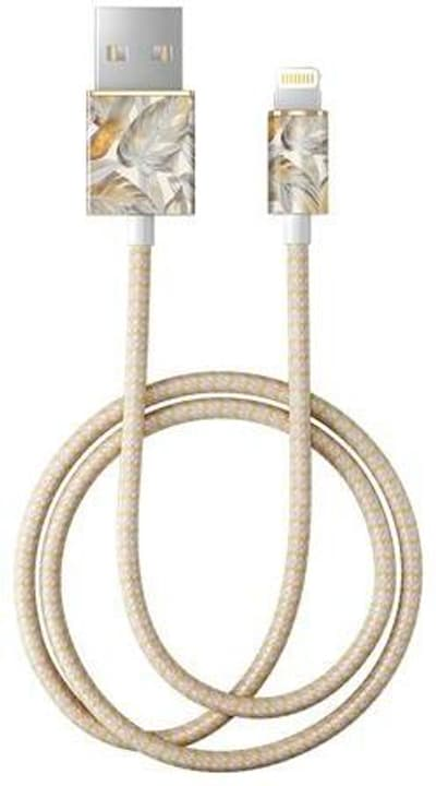 "Kabel 1.0m, Lightning->USB  ""Platinum Leaves"" Kabel iDeal of Sweden 785300148093 Bild Nr. 1"