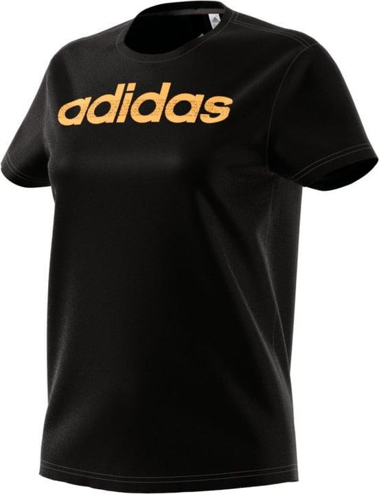 Foil Linear T-shirt pour femme Adidas 462378000620 Couleur noir Taille XL Photo no. 1