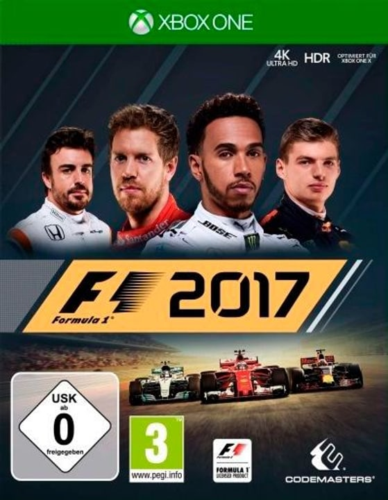 Xbox One - F1 2017 Physique (Box) 785300129718 Photo no. 1
