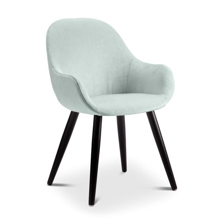 LAYLA Chaise Evita 366027380313 Dimensions L: 56.0 cm x P: 60.0 cm x H: 84.0 cm Couleur Turquoise Photo no. 1