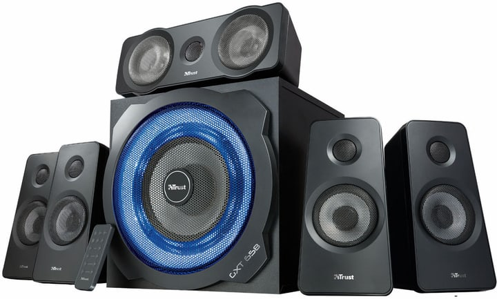 GTX 658 Tytan 5.1 Speaker Trust 785300131905 Photo no. 1