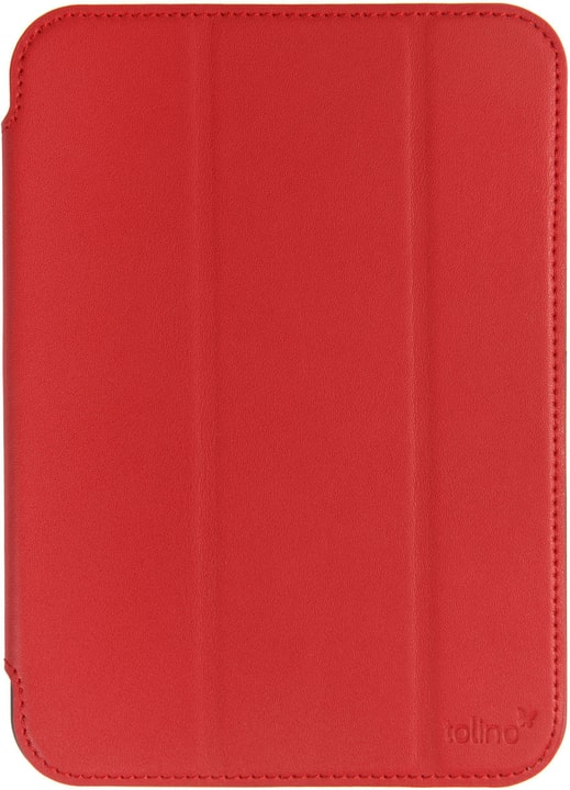 eReader Cover Cuir rouge Tolino 782678300000 Photo no. 1
