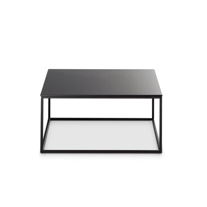 COFFEE table club 360970000000 Couleur Noir Dimensions L: 60.0 cm x P: 60.0 cm x H: 31.0 cm Photo no. 1