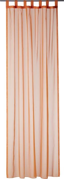 DANA Rideau prêt àposer jour 430259300057 Couleur Orange Dimensions L: 145.0 cm x H: 245.0 cm Photo no. 1